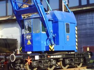 Eisenbahndrehkran