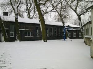 Winterimpressionen des ehemaligen Bw Wittenberg