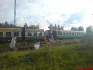 Die Looksfilm GmbH drehte 2005 für einen Spielfilm bei uns im Bw
