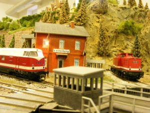 Modellbahnausstellung am 2. Advent 2008