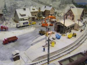 Modellbahnausstellung am 1. Advent 201201