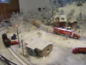 Modellbahnausstellung am 1. Advent 2012