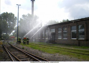 Notfallübung bei uns im Bw im Juni 2009