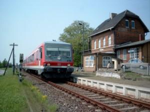 Sonderfahrt durch die Dübener Heide, Mai 2007