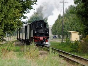 Vereinsausflugs (AG Modellbahn) zur Feldbahn nach Glossen 2012